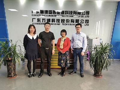 协会走访顺德容桂新能源企业
